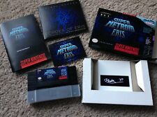 OFFICIAL RELEASE Super Metroid Eris EXTREMELY RARE Limited Edition Boxset