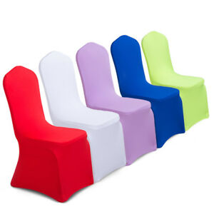 Elastic Stretch Spandex Chair Seat Covers Slipcovers Wedding Banquet Party Decor