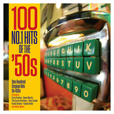 100 No.1 Hits Of The '50s - One Hundred Original Hits 4CD NEW/SEALED