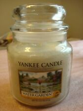YANKEE CANDLE WATER GARDEN JAR  CANDLE  14.5OZ   ~NEW~