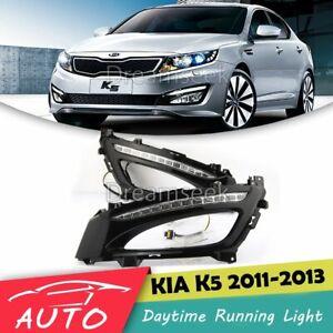 DRL FOR KIA OPTIMA K5 2011 2012 2013 LED DAYTIME RUNNING LIGHT FOG LAMP ASSEMBLY