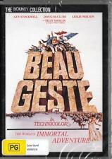 BEAU GESTE - LESLIE NIELSEN -  NEW & SEALED REGION 4 DVD - FREE LOCAL POST