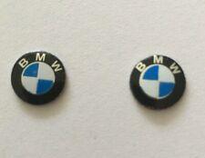 2 Logo BMW Emblème Stickers Clé Clefs BMW 11mm série 1 3 5 6 7 X1 X3 X5 X6 M3 M5