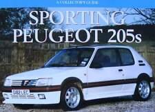 LIVRE/BOOK : PEUGEOT 205 (gti,cabriolet,décapotable,editions special,sport)