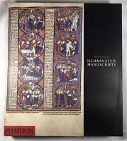 A History Of Illuminated Manuscripts PHAIDON By C. De Hamel TRUE  1ST 1994 HCDJ