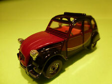 CORGI 1:36? CITROEN 2CV6 2CV - CHARLESTON - RARE SELTEN - GOOD CONDITION