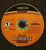 Cabela's Deer Hunt: 2004 Season (Microsoft Xbox, 2003) DISC ONLY