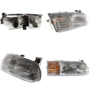 FO2503123 Headlight for 95-97 Ford Windstar Passenger Side