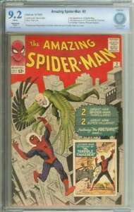 AMAZING SPIDER-MAN #2 CBCS 9.2 WHITE PAGES