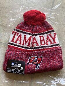 Tampa Bay Buccaneers Cap Hat Football NFL New Era Beanie