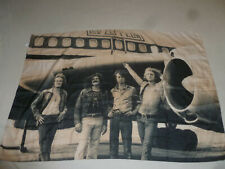 Led Zeppelin Bandana Scarf Handkerchief Tour Wrap Italy Plane