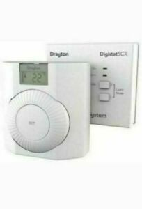 Drayton Digistat RF601 Wireless Room Programmable Thermostat boiler + REF-E3A50H
