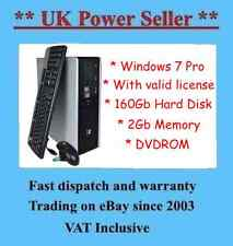Fast Powerful HP DC5750 cheap PC internet ready desktop computer Windows 7