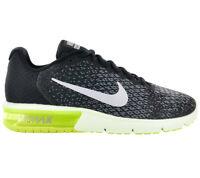 the latest 32671 c1945 Nike Herren Sneaker AIR MAX Sequent 2 Schuhe Schwarz Turnschuhe Freizeit  852461