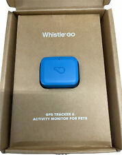 Whistle Go Blue - Ultimate Health & Location Tracker for Pets - Waterproof GP