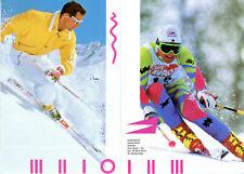 Original ess ,V,A,R, Plate Ski Bindings Color Brochure from 1990