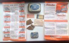 Vintage Collectable Tin Bundle - Vintage John Bull Mend A Tear & Songster Tins