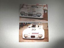 N°6902 / 24 H du Mans  1980 , 2 photos d'amateur d'epoque   :  IBEC P6
