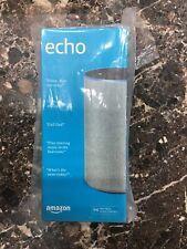 Amazon Echo (2nd Generation) Smart Speaker with Alexa - Heather Gray Fabric