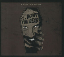 Karjalan Sissit Want You Dead CD Digipak Limited Edition Cyclic Law 74th SEALED