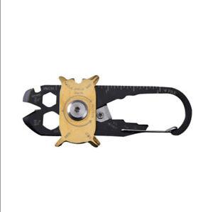20 in 1 Mini Gadget Fixr EDC Multifunctional Carabiner Multi Tool Key Pocket