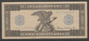 US Play Money not negotiable note 50000 Whitman Publishing Co.