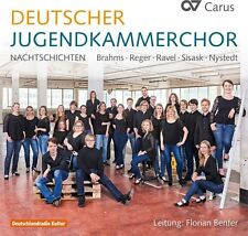 German National Youth Choir: Nachtschichten - Hensel / Nystedt / (2017, CD NEUF)