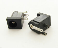 10pcs DC Power Supply Female Jack Socket 5.5mm x 2.1mm Barrel-Type PCB Mount