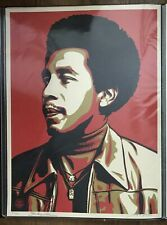 Shepard Fairey Smokey Robinson Red Signed Numbered 2010 Obey