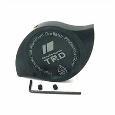 NEW JDM CNC Aluminum TRD Car Radiator Protection Cap Cover BLACK camry, corolla