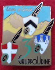 DISTINTIVO ALPINI 3° GRUPPO UDINE 17° 18° 34° BATTERIA ARTIGLIERIA - CONTI UDINE