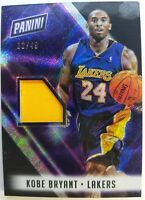 2018 Panini The National KOBE BRYANT Jersey Patch #'d /49, Prizm Refractor !