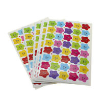 10pcs 400 Smile Stars Decal School Children Teacher Reward Cute Sticker Label t