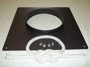 Chimney Closure/ Register Plate Sealing Collar 5''