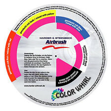 HARDER & STEENBECK - COLOR WHIRL - PAINT MIXING GUIDE - ENGLISH/GERMAN LANGUAGE