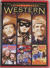 Westerns Classics Triple Feature (Roy Ro DVD
