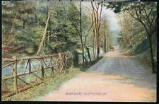 VALLEY FORGE PA Horse & Buggy Road Scene Antique 1908 Postcard Early Vtg PC