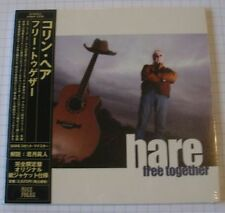 COLIN HARE - Free Together JAPAN MINI LP CD OBI NEU! AIRNF-009