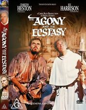 The Agony & The Ecstasy Studio Classics Charlton Heston Region 4 DVD VGC