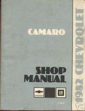 CHEVROLET Camaro 1982 manuel boutique d'usine d'origine, y compris les révisions American