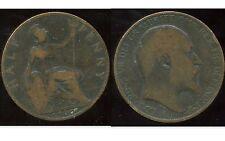 ROYAUME UNI  half penny 1907