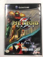 Metroid Prime (Nintendo GameCube, 2004) w/Bonus Metroid Prime Echoes *COMPLETE*