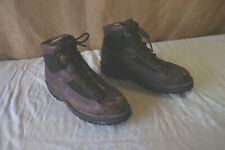 DANNER TIMBER GORE TEX 11.5 CANVAS LEATHER BOOTS - MADE IN USA!!