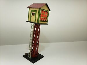 MARX DISPATCHING/SIGNAL TOWER AMAZINGLY GOOD ORIGINAL CONDITION SEE PICTURES