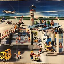 Playmobil Airport Terminal With 2 Aircraft Retired