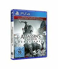 Assassin's Creed III Remastered - [PlayStation 4] v... | Game | Zustand sehr gut