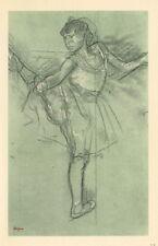 """Edgar Degas """"Danseuse debout, levant la jambe droite"""""""