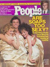 JUNE 14 1982 PEOPLE magazine (UNREAD - NO LABEL) - ARE SOAPS TOO SEXY?