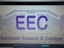 EEC EDN543 Exhaust Centre Middle Pipe Box Fits Micra K12