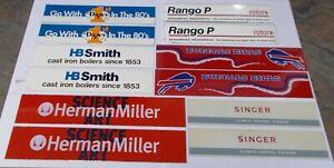 Winross Truck Side Panels Herman Miller, HB Smith, Dazey, Singer, Buffalo Bills